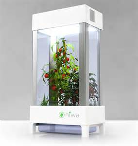 home hydroponics meet niwa world s smart home hydroponics system