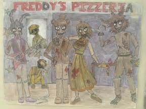 The fnaf characters as people by tytherocket on deviantart