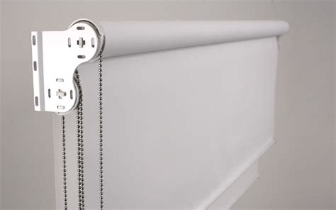 Curtains For Double Windows by Roller Blind