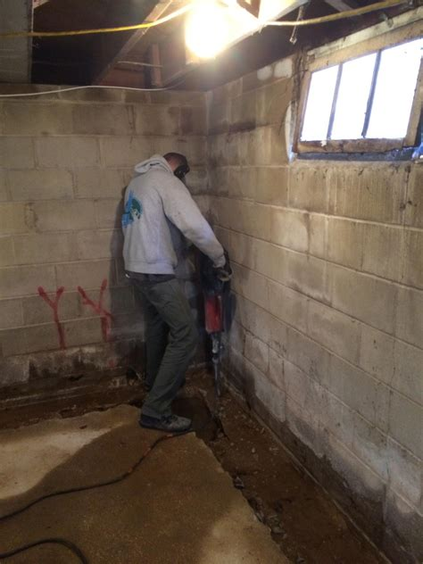 basement waterproofing heron s masonry nj