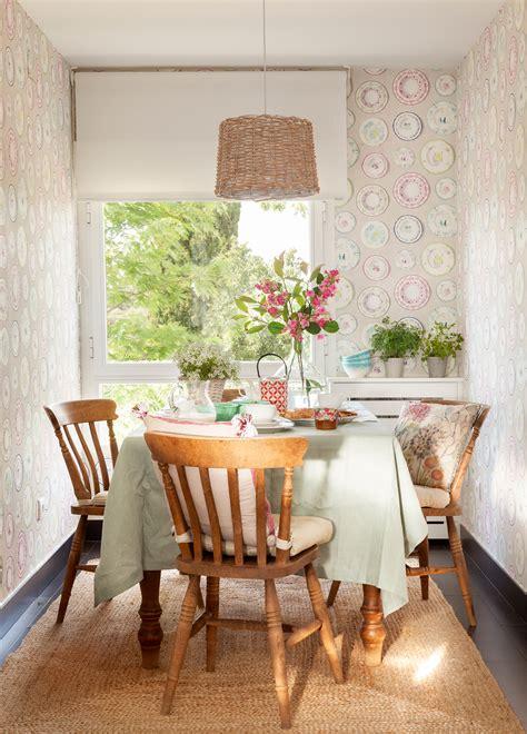decorar comedor con papel pintado comedor 15 ideas para decorar sus paredes
