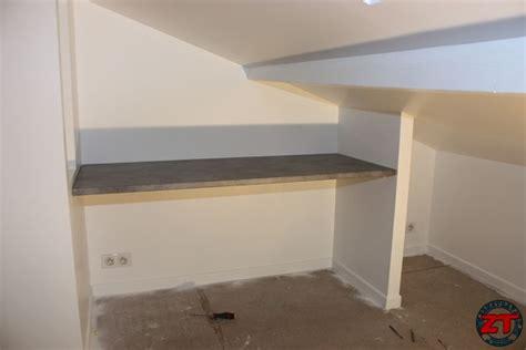 beautiful fixer plan de travail sur meuble un lot central tuto poser un plan de travail pour cr 233 er un bureau