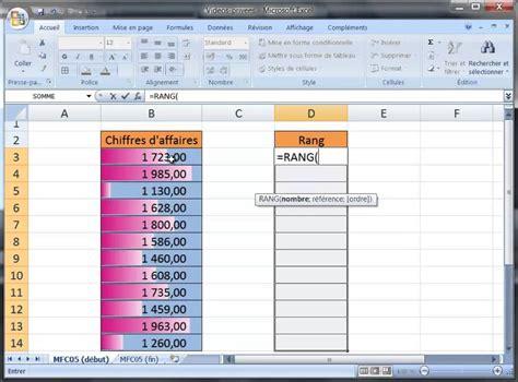 excel 2007 format mise en forme conditionnelle excel 2007 barres de couleurs horizontales mise en