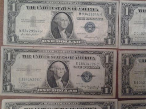 1957 Silver Certificate No Letter How Much Is A Silver Certificate Worth Artifact Collectors