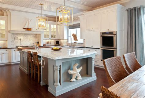 coastal kitchens coastal chic homes brewster home