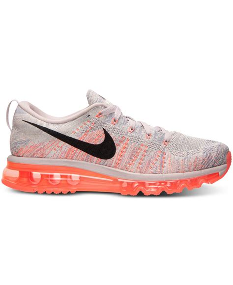 air athletic shoes lyst nike s flyknit air max running sneakers from