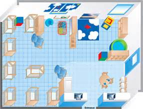Infant Classroom Floor Plan by An Environments Infant Room