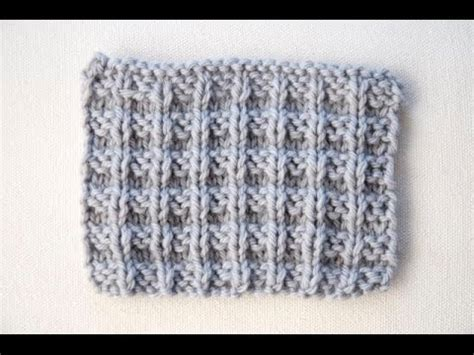 waffle knit stitch how to knit the waffle stitch