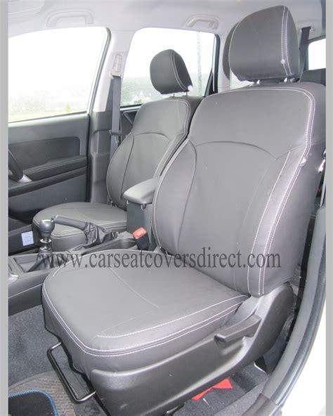 Subaru Car Seat Covers by Custom Subaru Forester Seat Covers Custom Car Seat