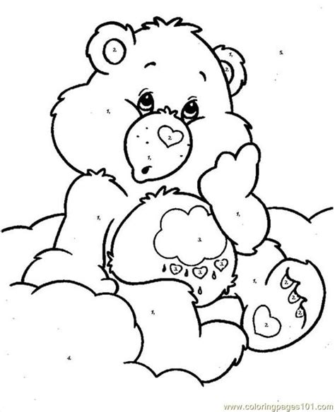 coloring pages of grumpy bear 27 best my grumpies images on pinterest care bears
