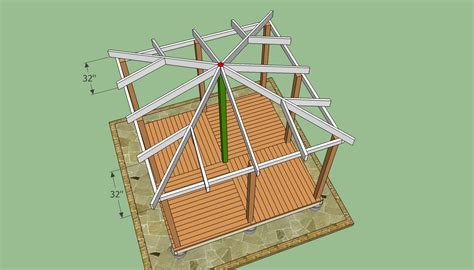 hip roof house plans to build woodworking projects plans wooden gazebo plans build a wooden gazebo http www