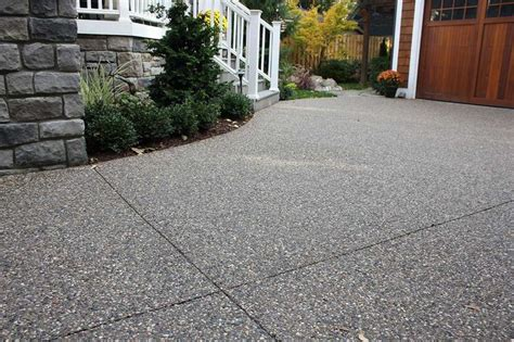 Aggregate Cement Patios by 1000 Images About Driveway Concrete On