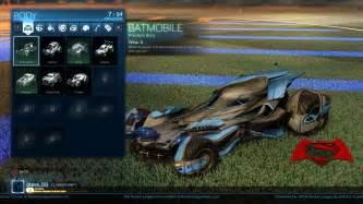 rocket league batman superman dawn justice car pack amp game update