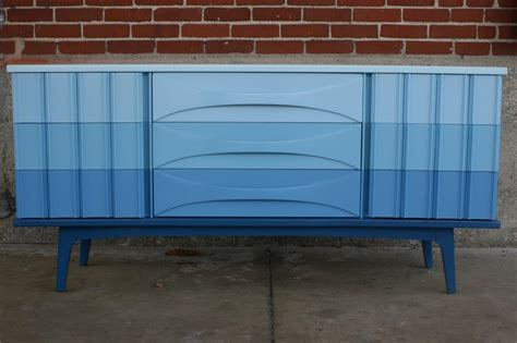 great exle of ombre painted dresser painted