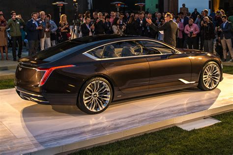 where are cadillacs from cadillac says flagship is coming isn t a four door sedan