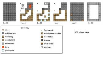 minecraft floor plan maker minecraft npc village building blueprints galleryhip com