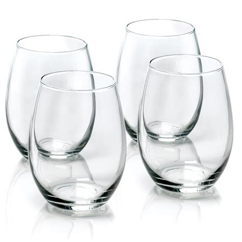 stemless wine glasses anchor hocking stemless wine glasses reviews wayfair