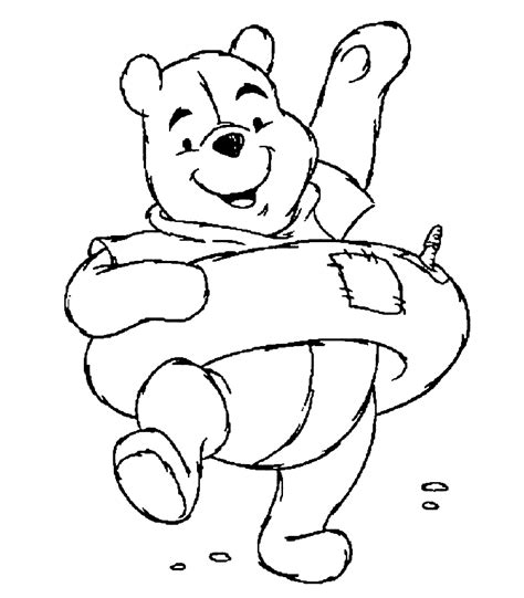 free coloring pages winnie the pooh coloring pages free