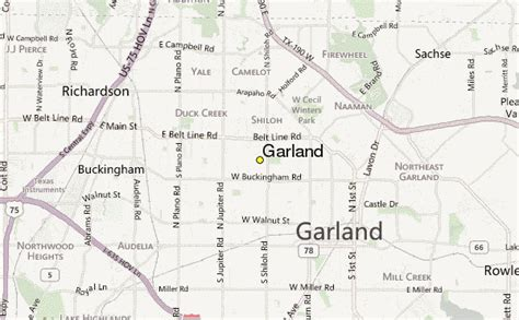 garland texas map garland weather station record historical weather for garland texas