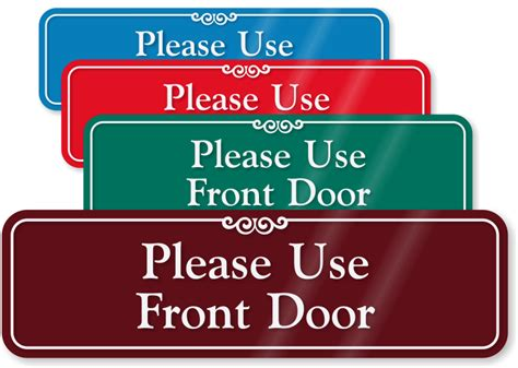 Door Signs by Use Other Door Signs From Mydoorsign