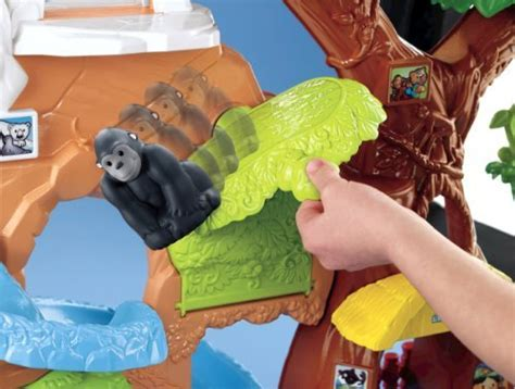 fisher price  people zoo talkers animal sounds zoo introduces animals   toddler