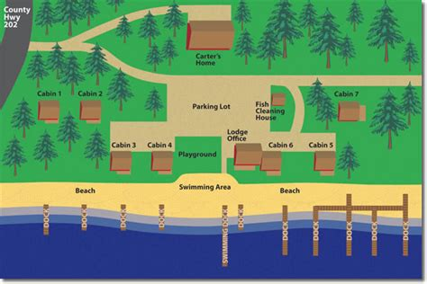 acres resort map about shamineau acres resort up family vacation
