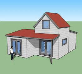 Tiny simple house is off the back burner tiny house design