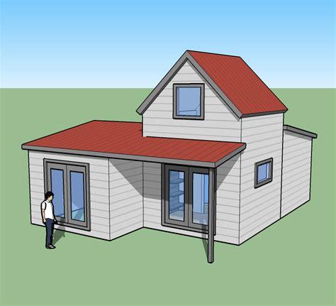 tiny simple house     burner