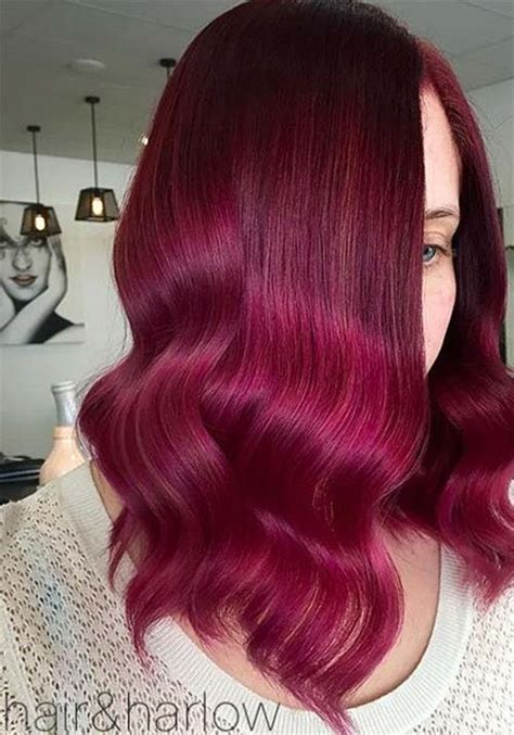 Nyu Hair Colour Burgundy Ns burgundy hair color winter hair burgundy my