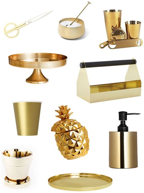 decor items 10 gold must have decor items under 40 sugar cloth
