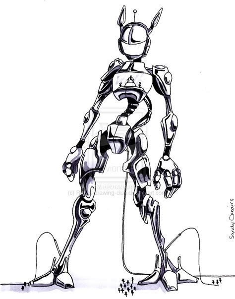 Drawing Robot by Robot 2007 Xandria Tchebbi By Robot Drawing Club On