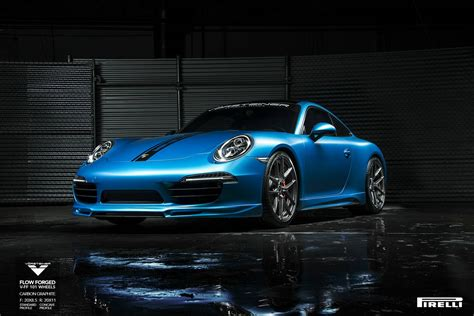 lowered porsche 911 tuningcars porsche 991 carrera s lowered on v ff 101