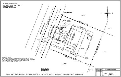 draw plan site plans technical drawing courses