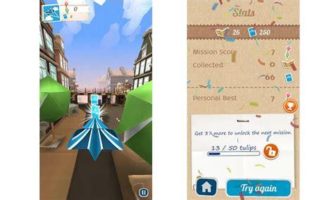 Membuat Game Endless Run | jets flying adventure endless run dengan pesawat kertas