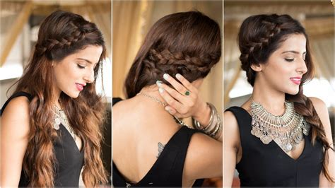hairstyle for party for rebonded hair 3 party hairstyles how to cute easy braid hairstyles