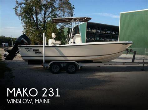 mako boats maine sold mako 231 boat in winslow me 117416