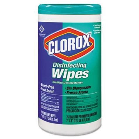 case  clorox disinfecting wipes