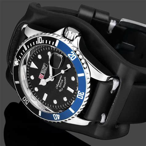 Jam Tangan Pria Swiss Army Infantry Set royale jam tangan analog automatic pria mr136 130 134 140 142 black blue