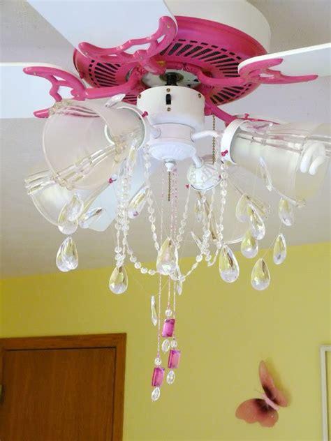 girls ceiling fan chandelier girls chandelier ceiling fan