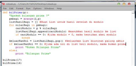 python tutorial xrange python function bilanganprima albert blogs