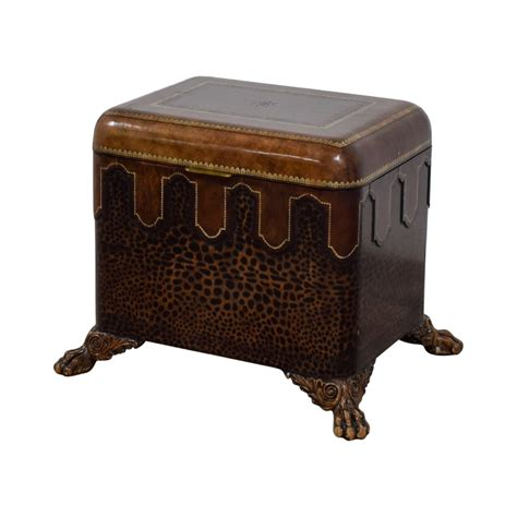 maitland smith table 86 maitland smith maitland smith embossed leather