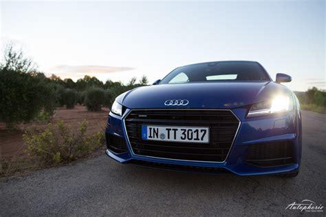 Erster Audi by Erster Fahreindruck Audi Tt Und Tts In Dritter Generation