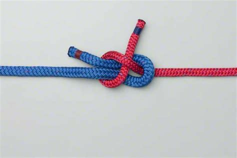 Two String Knots - sheet bend weaver s knot how to tie a sheet bend