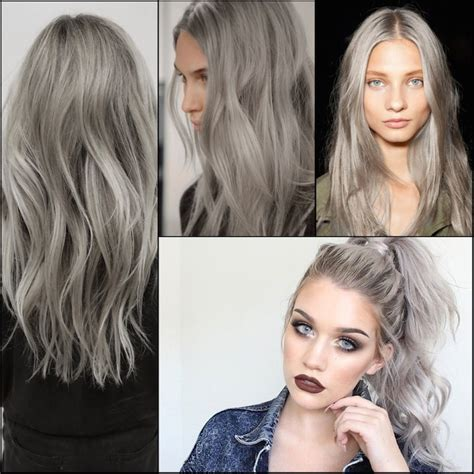 popular trending gray hair colors trending hair color stylenoted