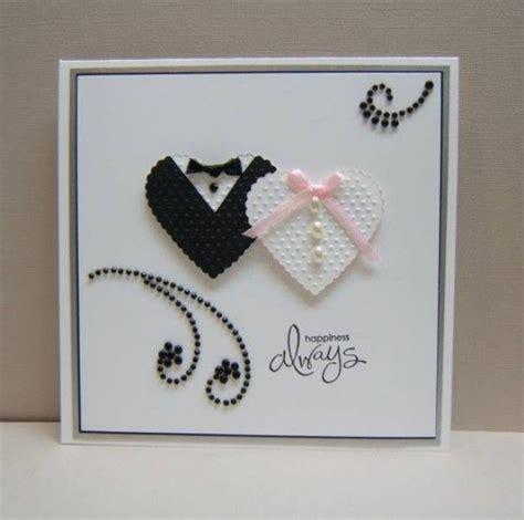 card crafts cadeau ideeen kaartideetje vor een bruiloft door kinikia