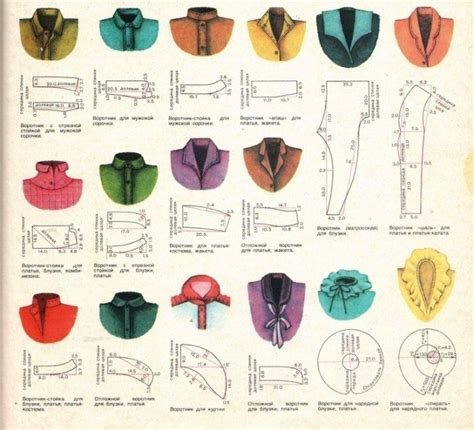 different pattern types different styles of collars sewing pinterest collar