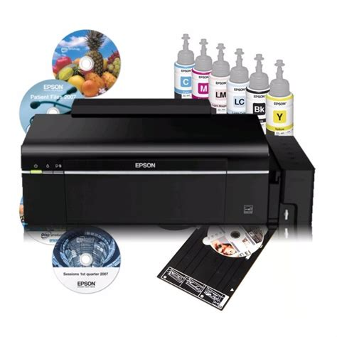 Tinta Printer Epson L800 Impresora Epson De Tinta De Fabrica L800 6 509 00 En