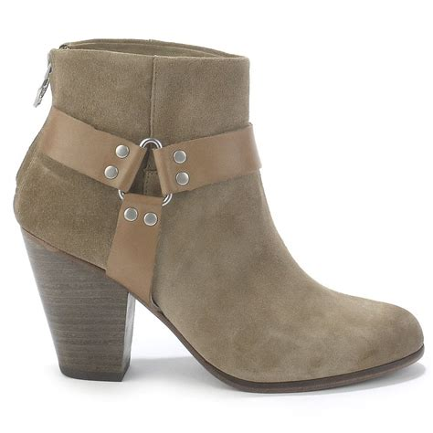 ash quartz taupe suede ankle boots ash from ash footwear uk