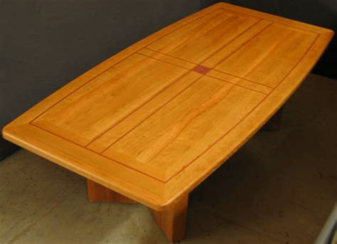 Solid Wood Conference Table Solid Cherry Wood Conference Tables Custom