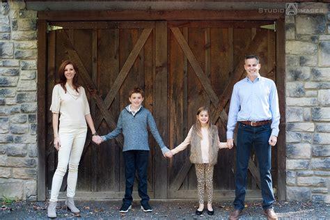 Tall Timber Barn Family Portraits   NJ Family Portrait